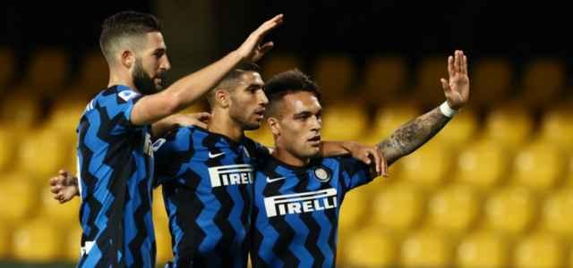 Gagliardini Hakimi Lautaro Inter gol lapresse 2020 640x300