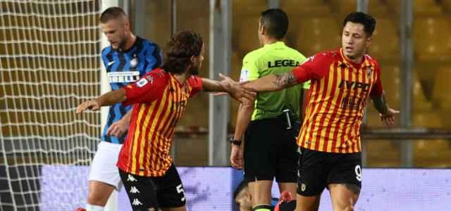 Lapadula Benevento gol lapresse 2020 640x300