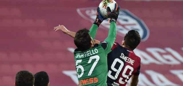 Simeone Sportiello Cagliari Atalanta lapresse 2020 640x300