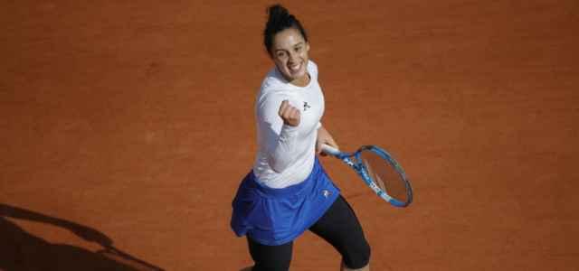 Martina Trevisan Roland Garros vittoria lapresse 2020 640x300