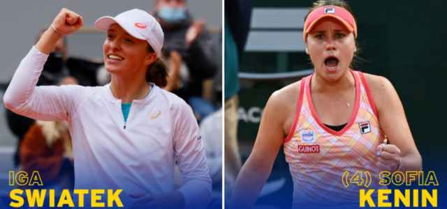 Swiatek Kenin finale Roland Garros facebook 2020 640x300