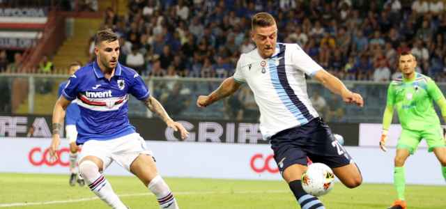Milinkovic Savic Lazio Sampdoria lapresse 2020 640x300