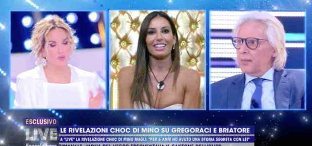 Mino Magli su Elisabetta Gregoraci