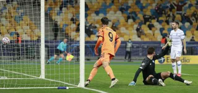 Morata gol Dinamo Kiev Juventus lapresse 2020 640x300