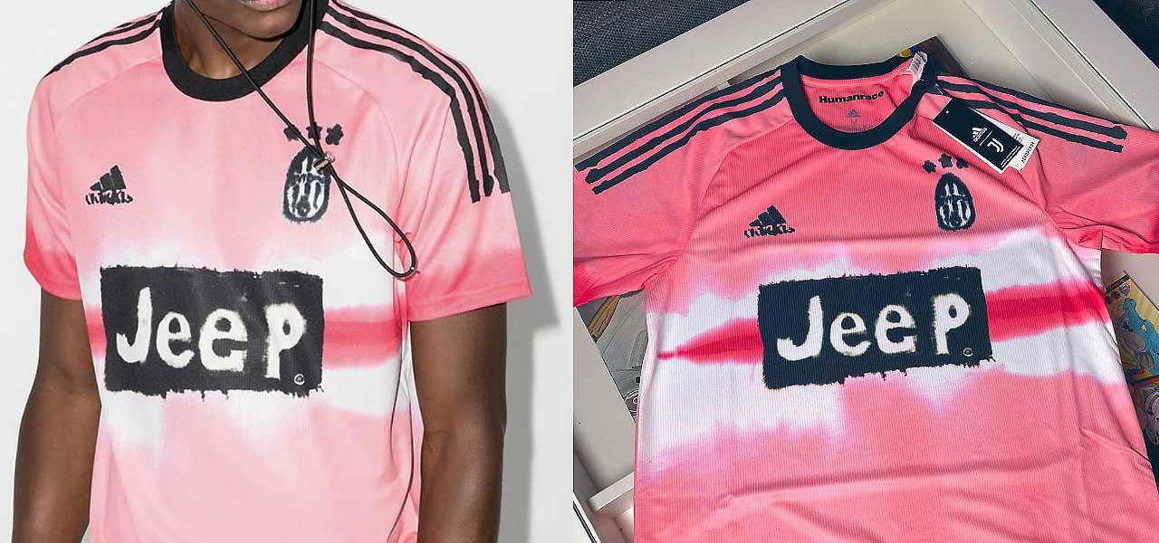 Juventus, 4^ maglia disegnata da Pharrell Williams/ Foto: 'special ...