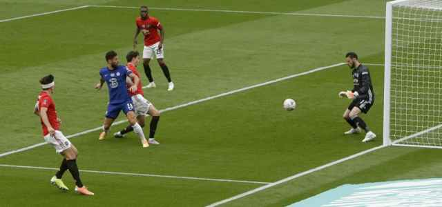 Giroud gol Chelsea Manchester United lapresse 2020 640x300