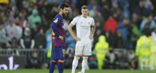 Messi Kroos Barcellona Real Madrid lapresse 2020 640x300