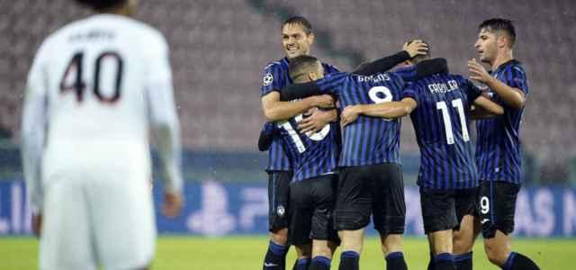 Atalanta esultanza Champions League lapresse 2020 640x300