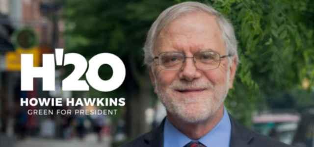howie hawkins partito verde 2020 facebook 640x300