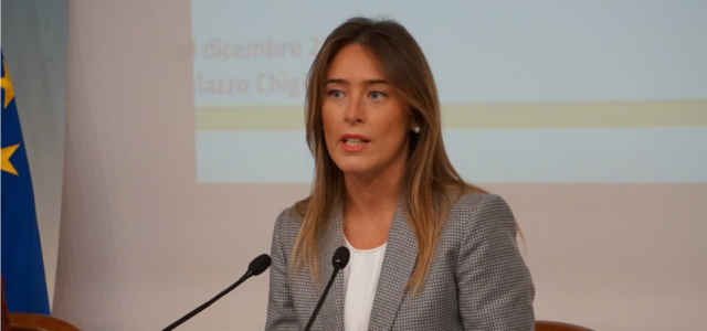 La politica Maria Elena Boschi