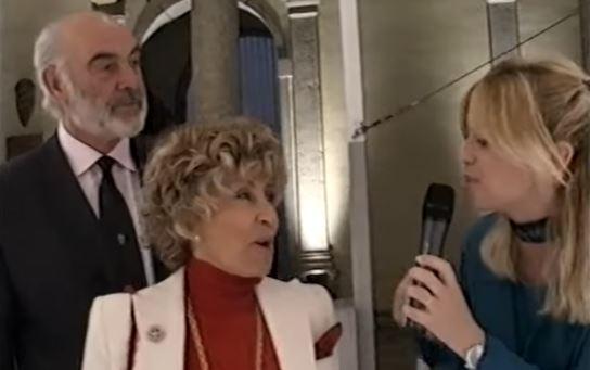 """Micheline Roquebrune, moglie Sean Connery/ """"Con lui ho sposato ..."""