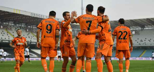 Juventus arancione esultanza lapresse 2020 640x300