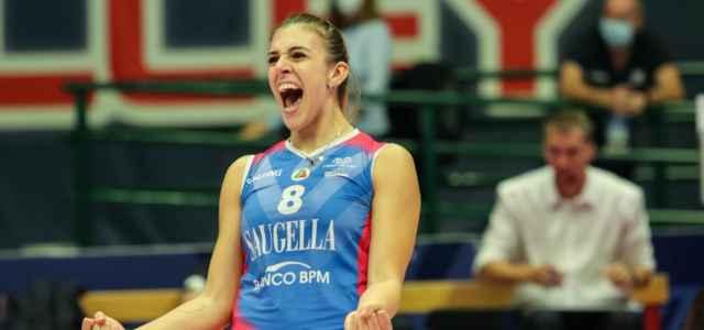 Alessia Orro Monza volley esultanza facebook 2020 640x300