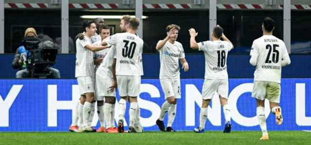 Borussia Monchengladbach gol esultanza lapresse 2020 640x300