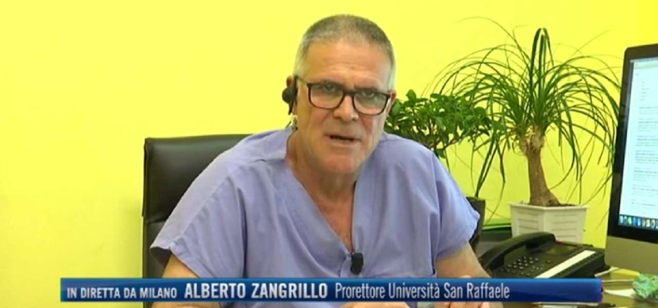 Alberto Zangrillo Terrore E Cattivo Consigliere Troppi Tamponi Non Aiutano