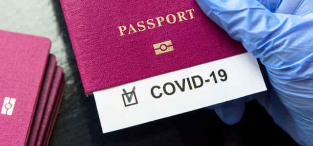 Primi test sul passaporto sanitario digitale anti-Covid