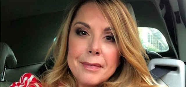 La conduttrice radiofonica Anna Pettinelli