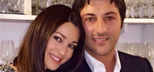 Manuela Arcuri in compagnia del marito Giovanni Di Gianfrancesco