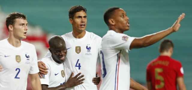 Pavard Kante Varane Francia gol lapresse 2020 640x300