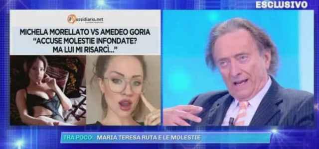 michela morellato amedeo goria domenica live 640x300