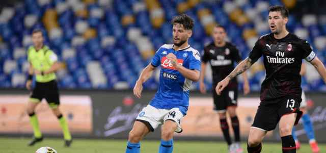 Mertens Romagnoli Napoli Milan lapresse 2020 640x300