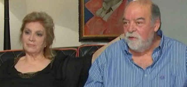 Iva Zanicchi in compagnia del 'marito' Fausto Pinna