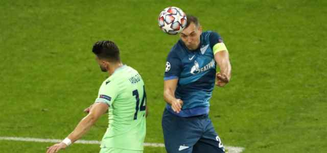 Dzyuba Hoedt Zenit Lazio lapresse 2020 640x300