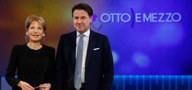 Conte e Gruber a Otto e Mezzo