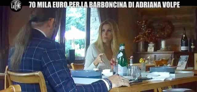 scherzo Adriana Volpe a Le Iene