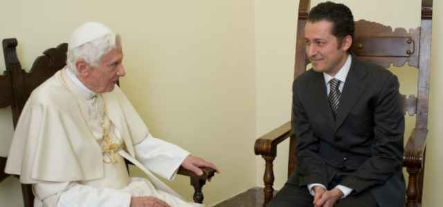 Papa Benedetto XVI e Gabriele