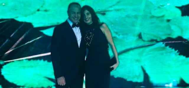 Antonio Cabrini e Marta Sannito