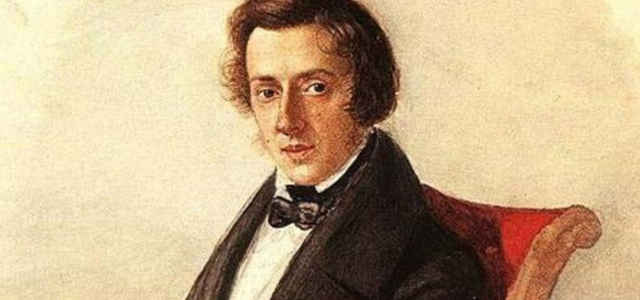 Il compositore e pianista Fryderyk Chopin (1810-1849)