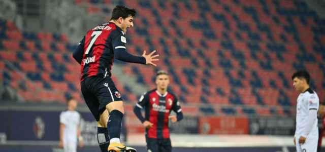Orsolini gol Bologna Spezia lapresse 2020 640x300
