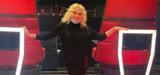 Antonella Clerici conduce 'The Voice Senior'
