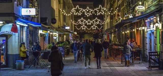 Luminarie a Natale nelle città