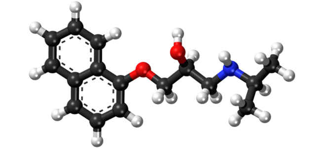 Propranololo, il principio attivo beta-bloccante