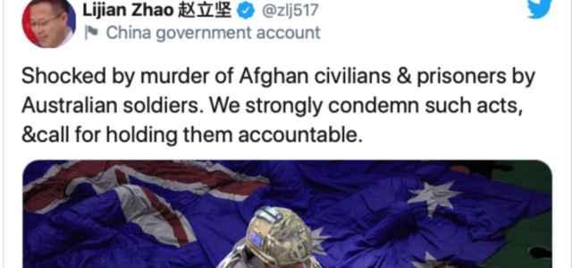 Scontro Cina-Australia