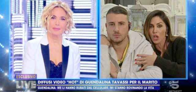Guendalina Tavassi e il marito Umberto