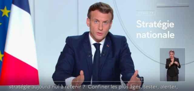 Macron, Covid Francia