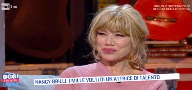 Nancy Brilli ospite a 'Oggi è un altro giorno'