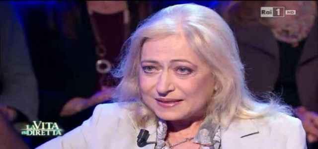 La moglie di Massimo Ranieri Franca Sebastiani