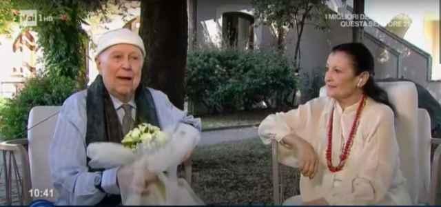 Beppe Menegatti e Carla Fracci