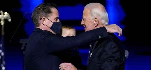 Hunter e Joe Biden