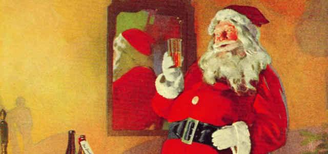 """Babbo Natale, nella pubblicità della """"White Rock Beverages"""""""