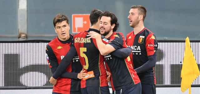 Destro Shomurodov Goldaniga Bani Genoa gol lapresse 2020 640x300