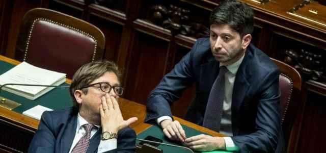 Pierpaolo Sileri e Ministro Speranza