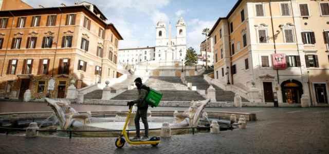 Zona rossa a Roma