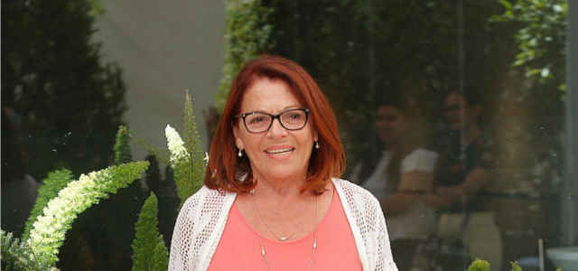 L'attrice Valeria Fabrizi