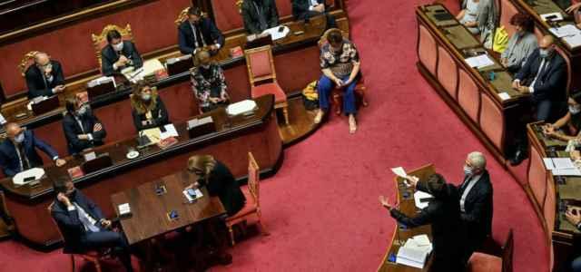 Renzi al Senato