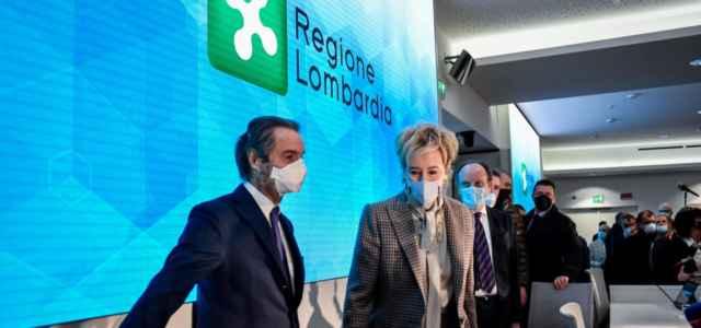 Regione Lombardia, Moratti e Fontana